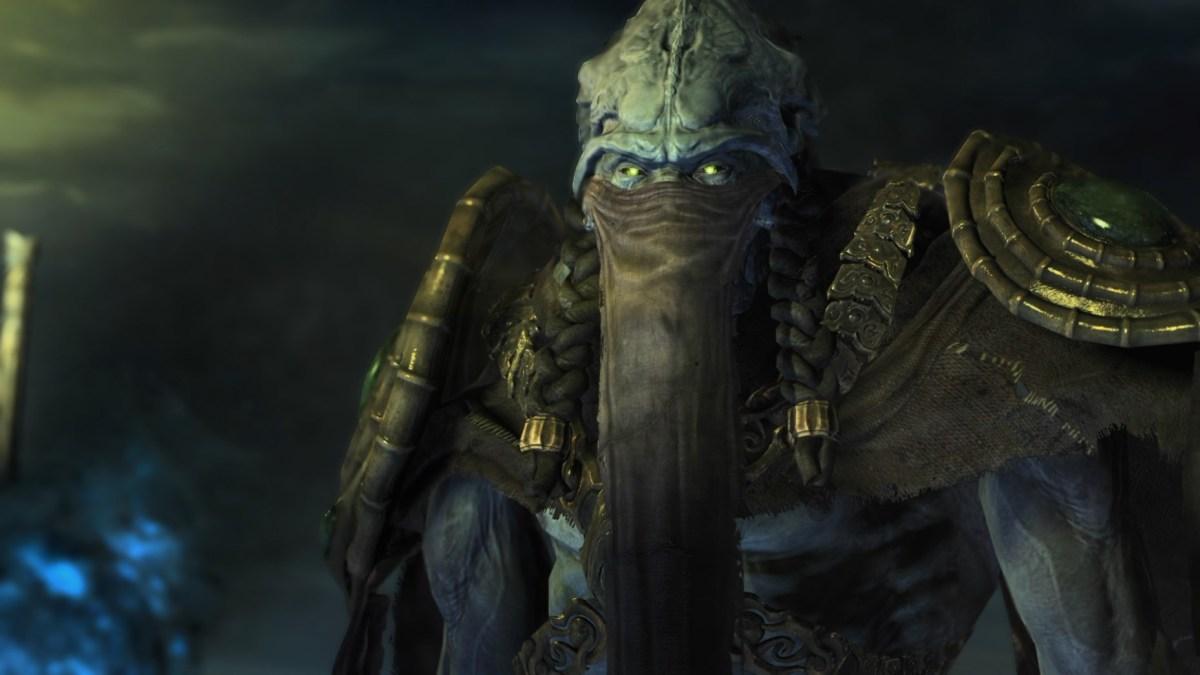 Zeratul, Protoss leader in StarCraft II: Legacy of the Void.