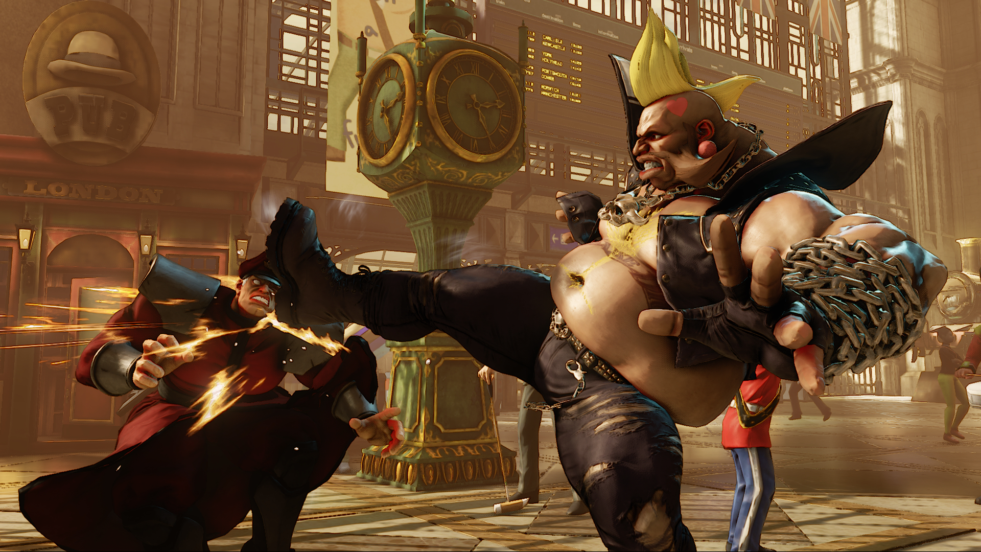 Street Fighter V E3 2015 - Birdie 05