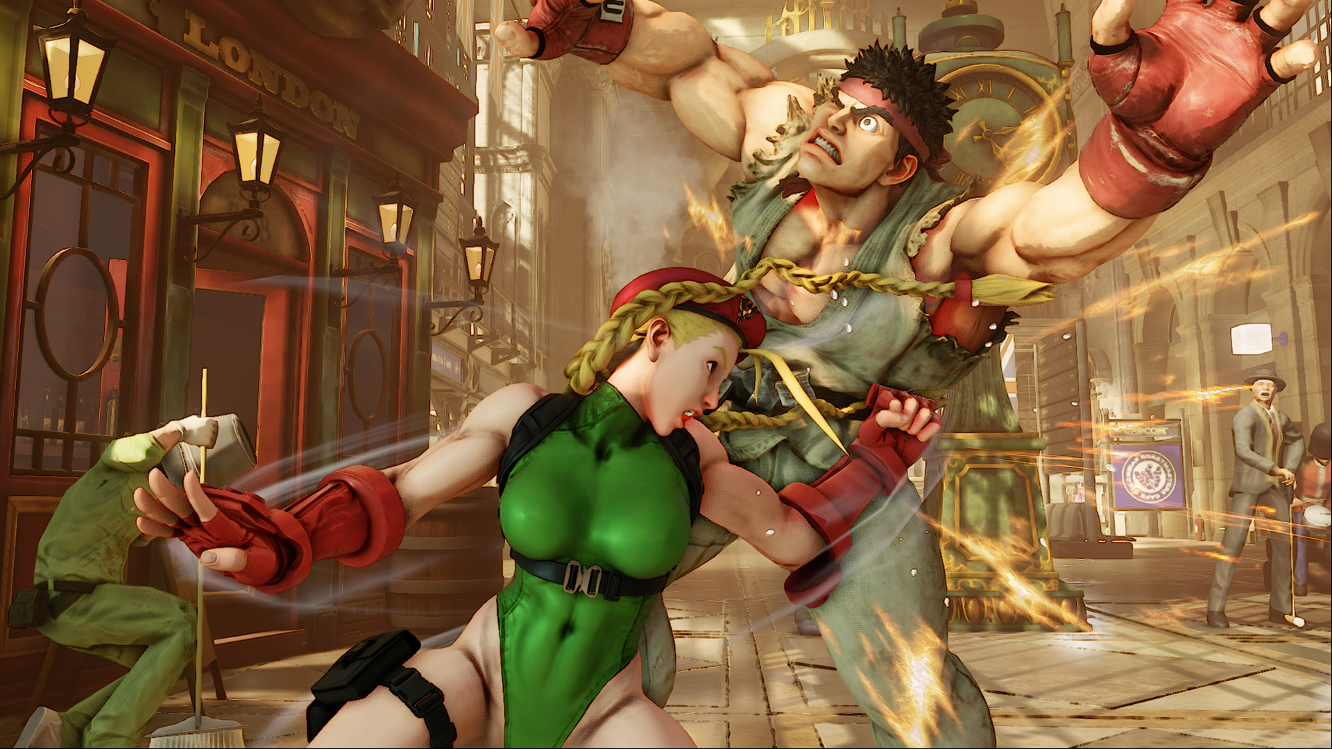 Street Fighter V E3 2015 - Cammy 02