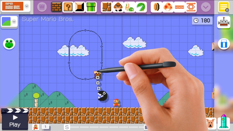 Super Mario Maker E3 2015 05