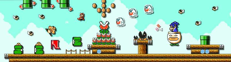 A 2D Mario game with endless content sounds amazing.