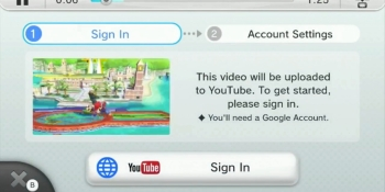 Super Smash Bros. for Wii U set to receive YouTube support
