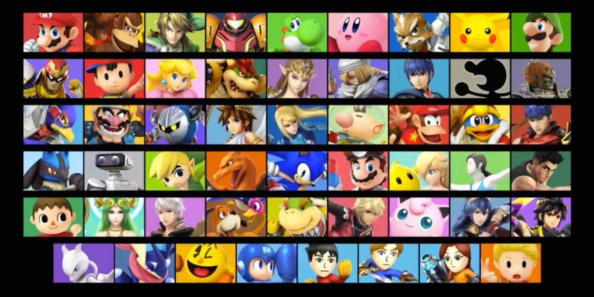 Super Smash Bros. fighters Amiibo
