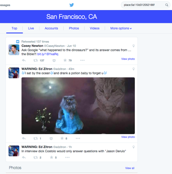 How to Search Your Own Tweets in Your Twitter Feed
