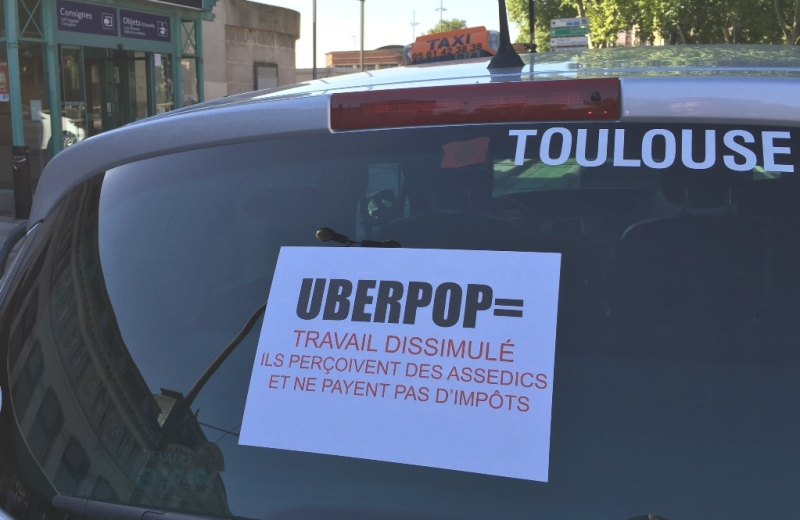 UberPop Protest, Toulouse