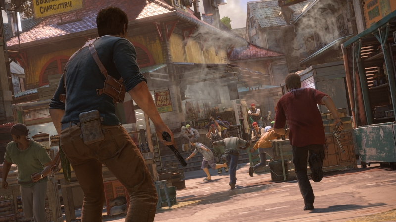 Uncharted 4 E3 2015 - Enemies approach