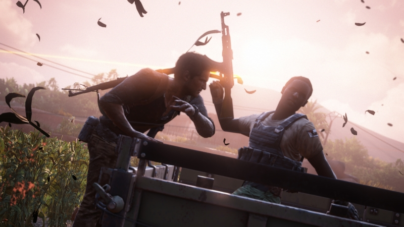 Uncharted 4 demo at E3 2015