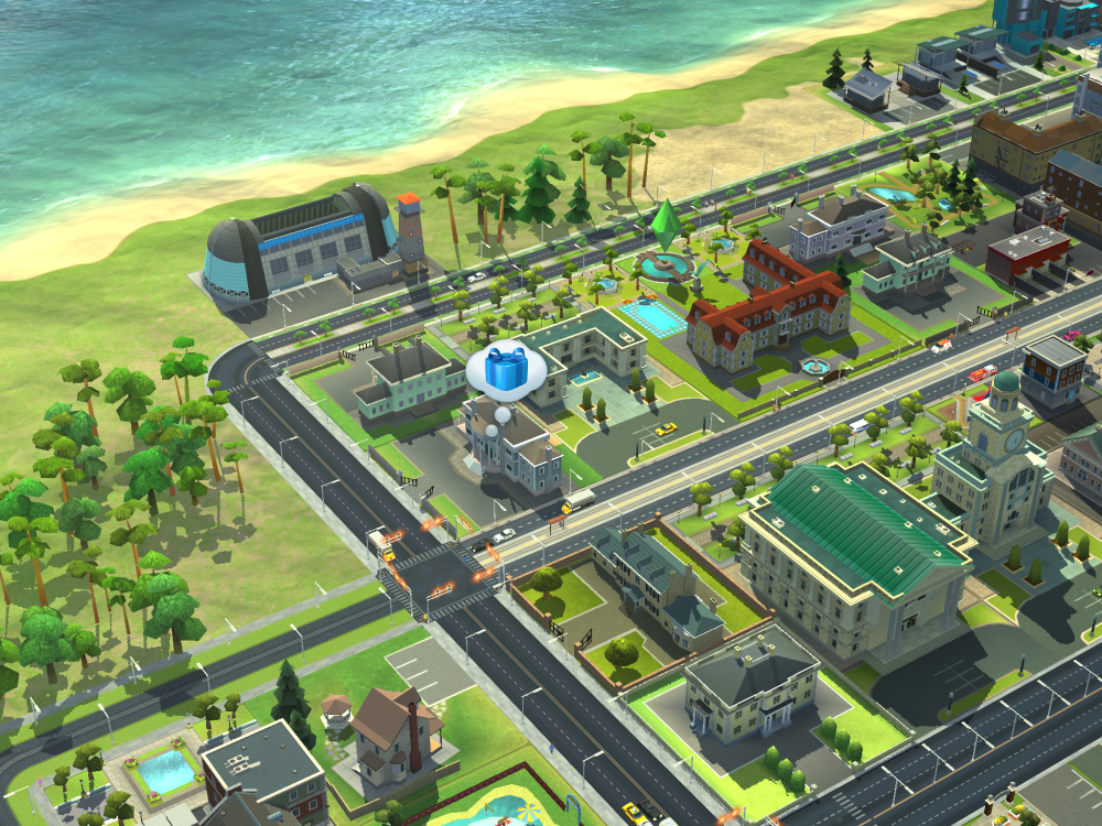 SimCity BuildIt Visiting Rewards
