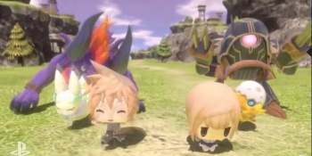Super-chibi World of Final Fantasy is the PlayStation Vita's only mention at Sony's E3 show (update)