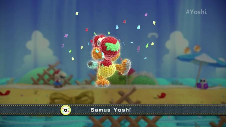 Samus Yoshi.
