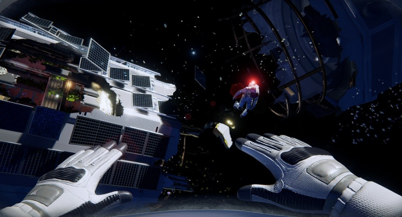 Adr1ft is about waking up, lost in space.