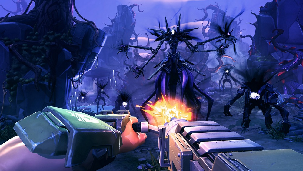 Battleborn has you fight more than other players