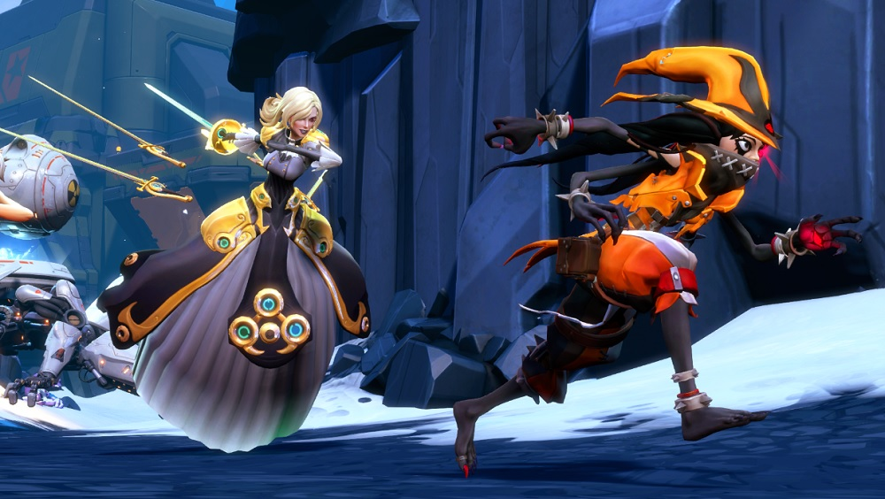 Some of the Battleborn's character designs are better than others.