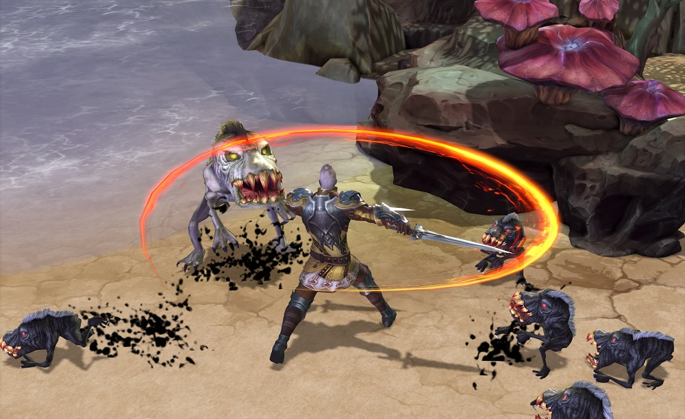Some of the enemies you fight in Devilian are weirder than others.