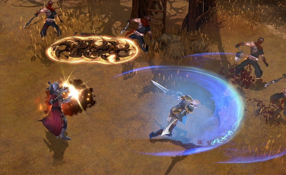 Many of the ablities in Devilian rely on area of effect to properly hit enemies.
