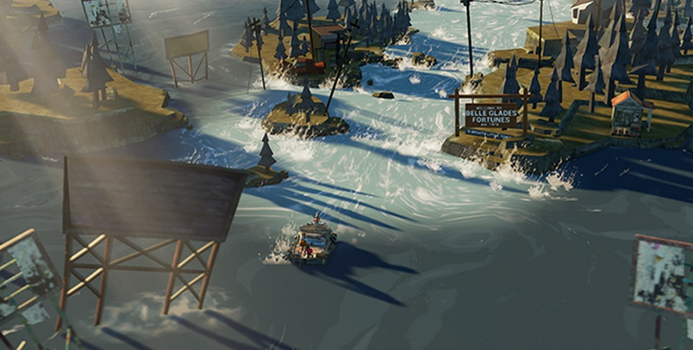 The Flame in the Flood concept art.