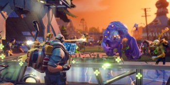 In Fortnite, you'll be chopping wood while the zombies are tearing you apart