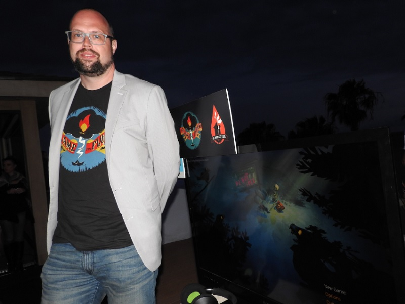 Forrest Dowling, designer of The Flame in the Flood