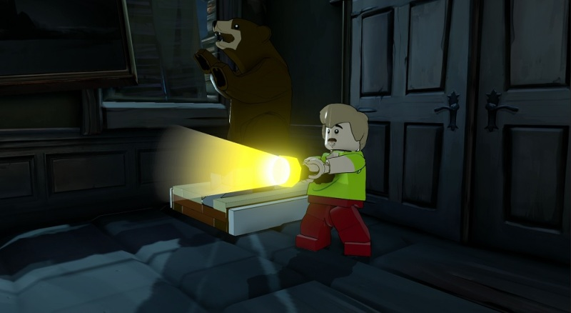 Shaggy from Scooby-Doo!  in Lego Dimensions.