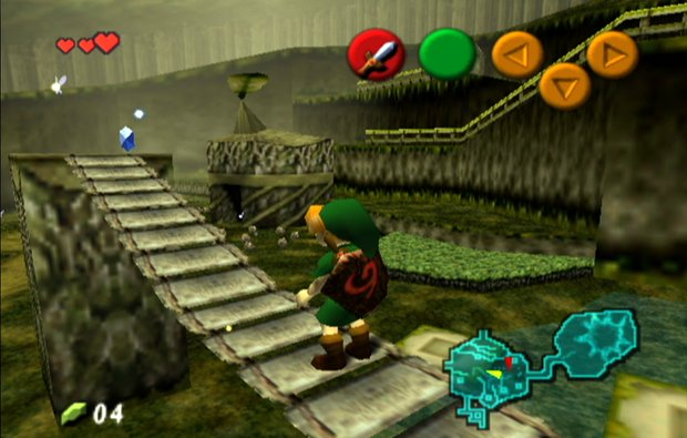 The Ocarina of Time came out on the Nintendo 64 in 1998.