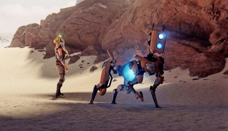 ReCore is about a girl and her robot friends.