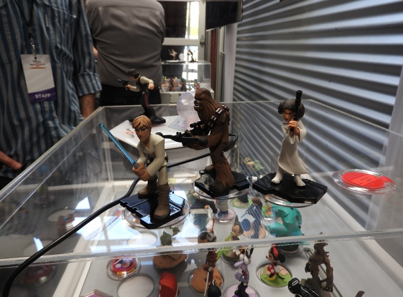 Star Wars characters for Disney Infinity 3.0.