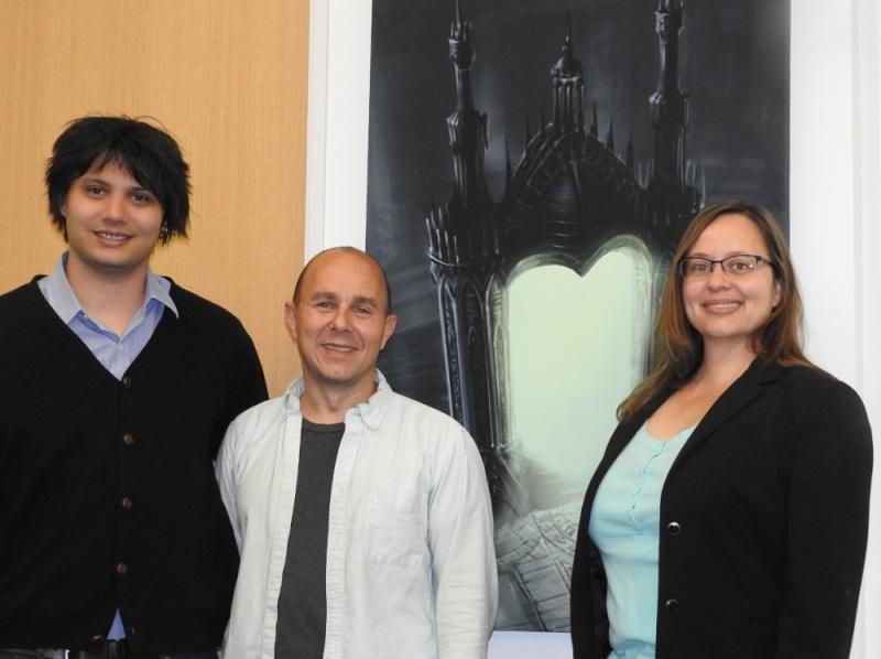 Trion's Andrew Sipotz (Producer), Scott Hartsman (CEO) and Victoria Voss (Program Manager) for Devilian.