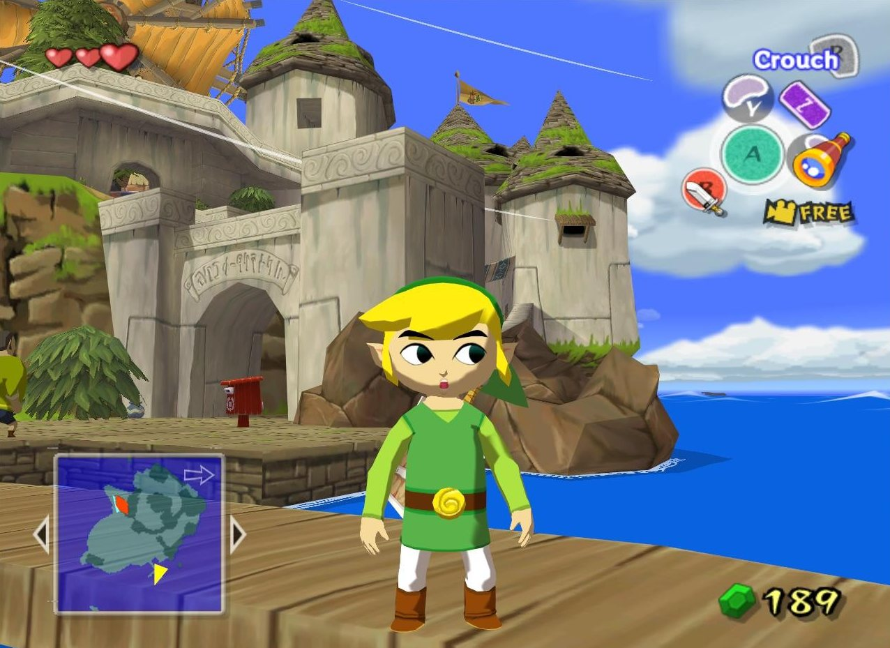 The Wind Waker came out in 2002 for the GameCube