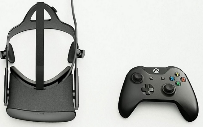 Oculus Rift and Xbox  One wireless controller