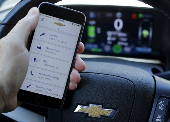 researcher says he can hack gm 39 s onstar app open vehicle start engine venturebeat. Black Bedroom Furniture Sets. Home Design Ideas