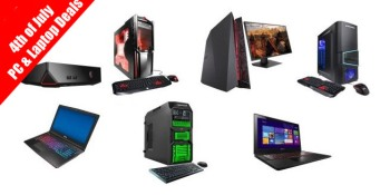 Gaming laptops & computers on sale for 4th of July