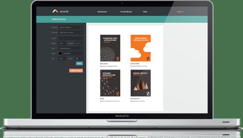 AVARI-Next-Best-Content-Block-Editor