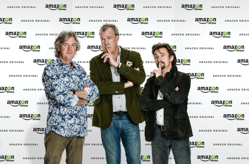 Amazon: Top Gear chaps sign up to The Grand Tour