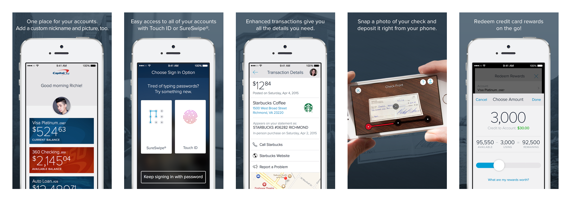 capital one launches an app to manage your home and auto loans
