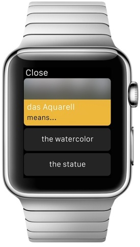 Babbel for Apple Watch