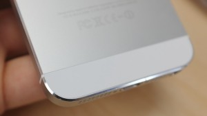 """That shiny polished metal angled edge around the edge of the phone is a """"chamfered edge."""""""
