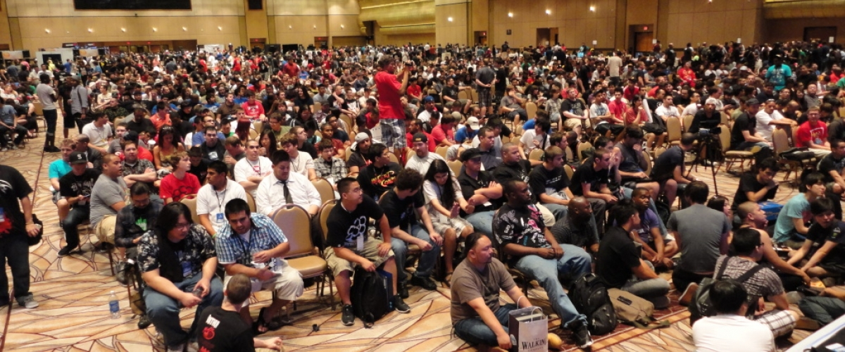 The crowd at Evo weren't the only ones feeling hype about the fighting game tournament equivalent of the Daytona 500.