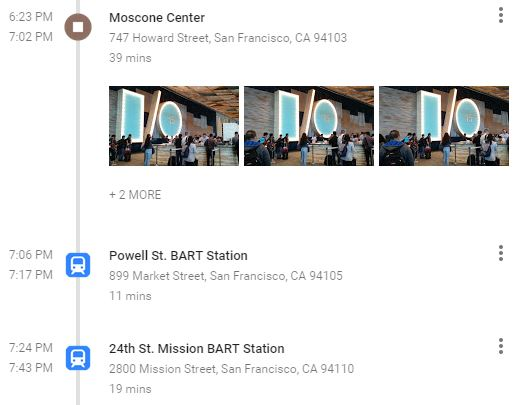 Hands on with Google Maps' Your Timeline: Fascinating, but