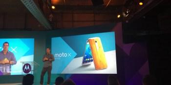 Motorola unveils new Moto X Style, Moto X Play, and Moto G smartphones