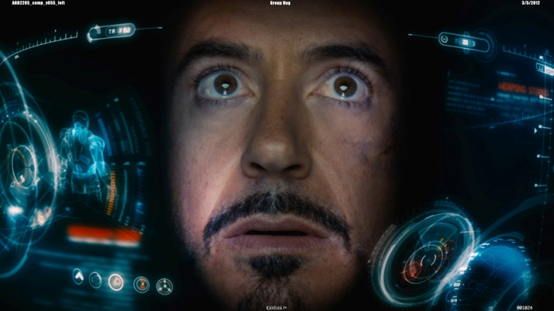 Iron Man's heads-up display is a good example of what people are expecting. And it looks a hell of a lot like what I experienced in HTC Vive.