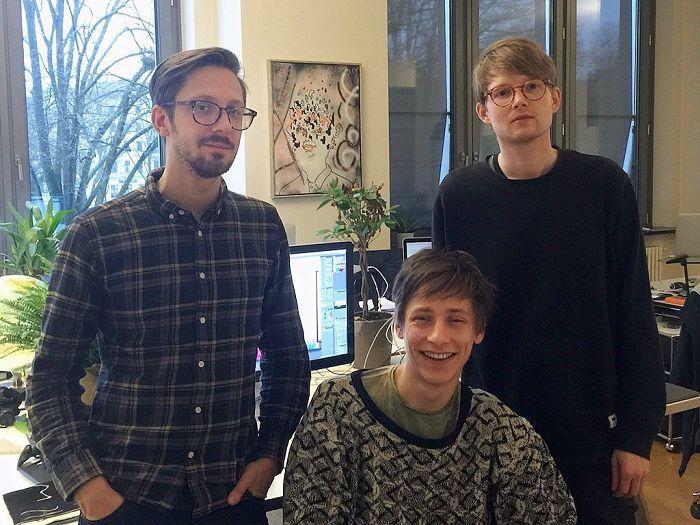 From left: Oddur Magnússon, Ívar Emilsson, and Mundi Vondi.