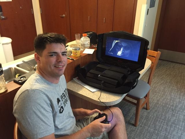 Operation Supply Drop also helps veterans recovering in military hospitals.