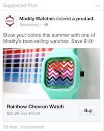 Modify Watches on Facebook
