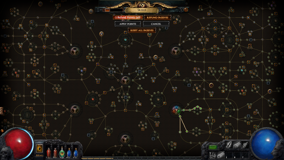 Path of Exile's skill tree is ... well, large doesn't quite do it justice.