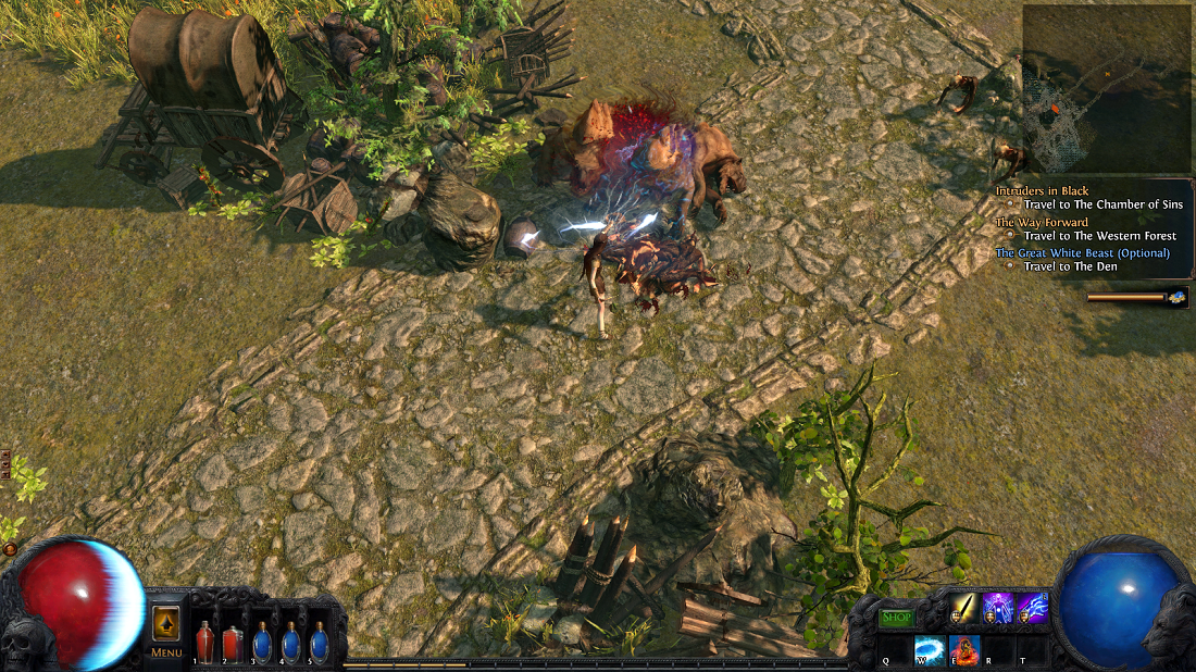Path of Exile does more than just feature an old-school skill tree -- it's setting