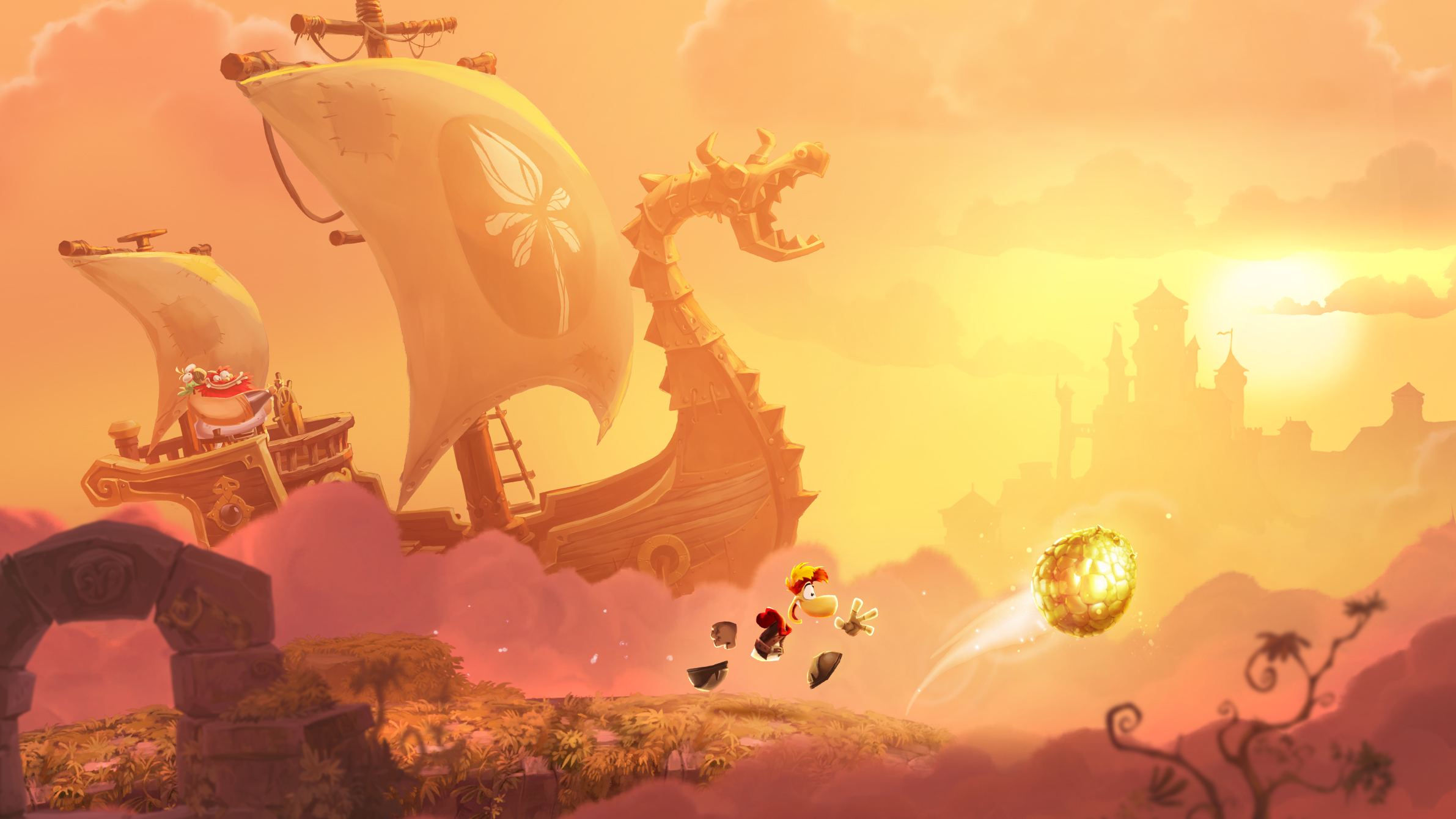 Epic adventures wait for Rayman.