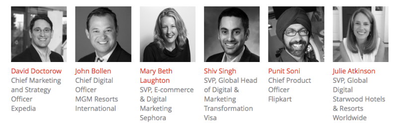Some of the MobileBeat 2015 speakers