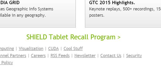 Shield tablet recall program