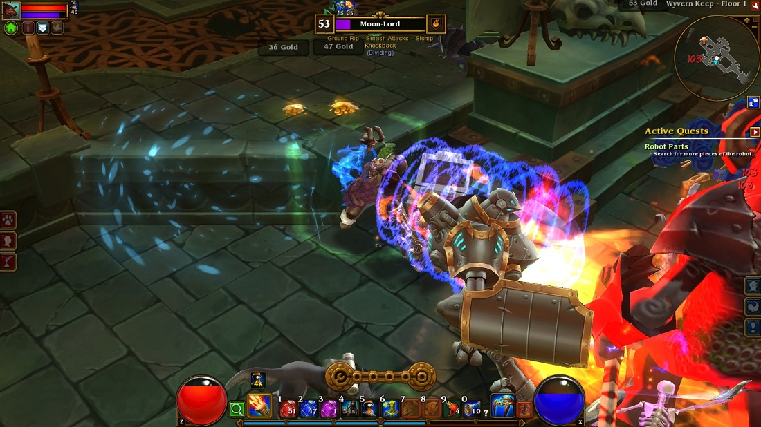 Torchlight may be the most colorful action-RPG on the market.