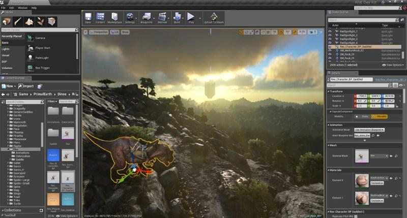 Ark: Survival Evolved mod tool.